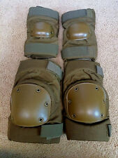 ~NEW IN PKG! GENUINE USMC US MARINE CORPS ISSUE LG COYOTE KNEE & ELBOW PAD SET