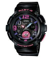 Casio Baby-G * BGA190-1B World Time Black Pink Watch Ivanandsophia COD PayPal