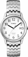 Timex T2P294, Easy Reader, Men's, Silvertone Expansion Watch, Indiglo, T2P2949J