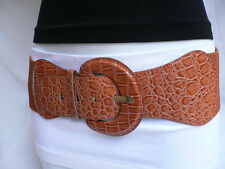 Women Special Hip High Waist Light Brown Mocha Fashionable Belt Sizes XS S M