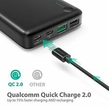 RAVPower Portable Charger 20100mAh External Battery Pack with Qualcomm Quick 2.0