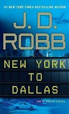 New York to Dallas (Wheeler Large Print Book Series), Robb, J.D., Good Condition