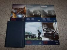 2012 Land Rover Defender Factory Original Owner's Owners Manual Set