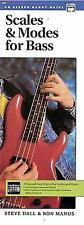 Scales and Modes for Bass : Handy Guide by Ron Manus and Steve Hall 1992, PB