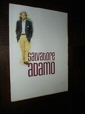PROGRAMME SALVATORE ADAMO - Olympia 1998