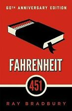 Fahrenheit 451 Ray Bradbury 60th Anniversary Edition Brand New Paperback