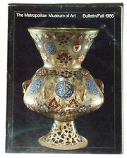 BOOK History of Islamic Glass antique vase bottle MET Museum Art Bulletin 1986