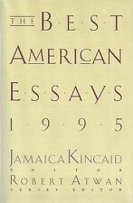 Best American Essays 1995 SIGNED William GASS Cynthia OZICK Grace PALEY & 3 more