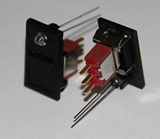 C&K 8125J84Z3BE22 PUSH BUTTON SWITCH ON Mom. SPDT WITH LED