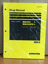 Komatsu WA200-6, WA200PZ-6 Wheel Loader Shop Service Repair Manual