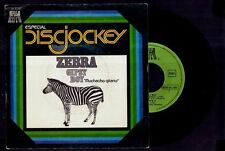 "ZEBRA - Gipsy Boy / Milk 'N' Honey - SPAIN SG 7"" Reflejo 1977 - Vinilo 45 rpm"