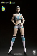 ORIGINAL EFFECT WORLDCUP SEXY SOCCER/ FOOTBALL UNIFORM ARGENTINA 1/6 FIGURE