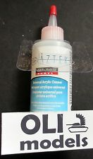 Universal Acrylic Airbrush CLEANER 4oz./118ml Bottle  Testors/Model Master 50497