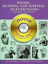 Books, Reading and Writing Illustrations CD-ROM and Book (Dover Electronic Clip