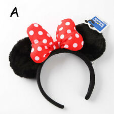 New Disney Parks Minnie Mouse Ears Mickey Headband Christmas Costume Party