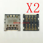 2x New SIM Card Reader Slot Socket For LG L70 D320 D320N D320F D325 OEM