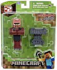 Minecraft Overworld Blackmith Aldeano 7.6cm Articulado Figura De Acción BNIP