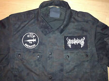 Nachtmystium Black Metal Army Shirt Krieg Twilight Judas Iscariot Stop Madness