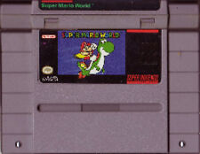 SUPER MARIO WORLD SYSTEM SNES SUPER NINTENDO GAME NES HQ