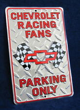 CHEVROLET Chevy GM Embossed Tin Sign - Garage Bar Rec Game Rm Basement Man Cave