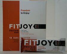 CLEARANCE FitJoy Nutrition Protein 20G Bar Frosted Cinnamon Roll 12 Bar BOX 2018