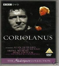 Coriolanus BBC Shakespeare Collection DVD Alan Howard New Sealed UK Release R2