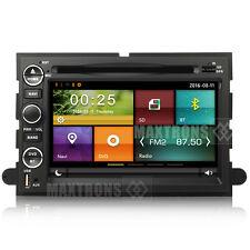 Car DVD GPS Radio Nav For Ford F150 Edge Explorer Mustang Expedition free camera