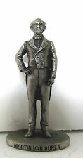 Danbury Mint 8th President Pewter Figurine by David A LaRocca, Martin Van Buren