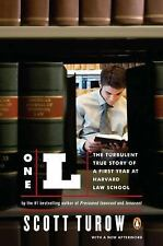 NEW - One L: The Turbulent True Story of a First Year at Harvard Law School