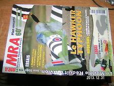 MRA n°774 Plan encarté Hawker Typhoon / Fokker D7 Le Fox Le Raptor