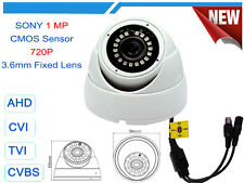 AHD TVI CVI ANALOG 720P 960H 1MP WDR NIGHT VISION CCTV DOME SECURITY CAMERA