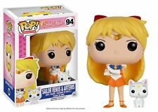 Sailor Moon - Funko Pop Animation 94 - Sailor Venus e Artemis - New Vinyl Figure