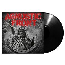 AGNOSTIC FRONT - THE AMERICAN DREAM DIED  VINYL BLACK LP NEU
