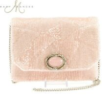 Mary Frances Make Me Blush Mini Beaded Handbag Gorgeous & Rare Color!!!