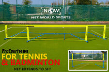 10' ProCourt Mini Tennis & Badminton Combi Net