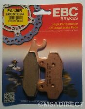 "Suzuki RM125 (1987 to 1995) EBC ""R"" Sintered FRONT Brake Pads (FA135R) (1 Set)"