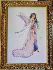 "SALE! COMPLETE X STITCH KIT ""ENCHANTED FAIRY RL23"" by Passione Ricamo"