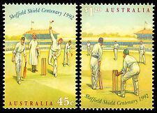 Sheffield Shield Cricket, 1992 High Value issue. Superb MNH    •  FREE POST  •