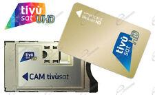 Cam Tivusat e Smartcard Tvsat ORO è Rai Mediaset La7 HD 4K su Smart TV e decoder