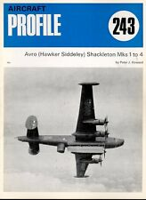 AIRCRAFT PROFILE 243 BLUE AVRO SHACKLETON MKs1-4 RAF COASTAL COMMAND MR AEW SAAF