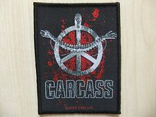 Aufnäher - Patch - Carcass - Heartwork - Napalm Death - Entombed - Autopsy