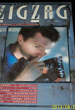 BILLY BRAGG - ZIGZAG -UK MUSIC MAG-1985-ALIEN SEX FIEND-LYDIA LUNCH-VERY THINGS