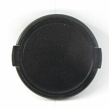 Used Black 62mm Lens Front Cap snap on type  S211651