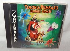 Timon & Pumbaa's Jungle Games 7th Level Disney's Gamebreak for PC 5 Games