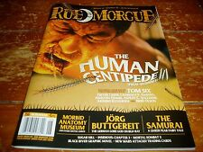 Rue Morgue Magazine # 156 June 2015 Issue The Human Centipede 3
