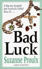 Bad Luck (Victoria Lucci Novels) Proulx, Suzanne Mass Market Paperback