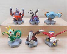 Pokemon Tomy Figure Hydreigon Serperior Golurk Moncolle Plus Set of 6