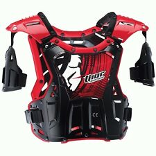 Thor NEW Mx Quadrant Black Red Youth Motocross Chest Protector Kids Body Armour