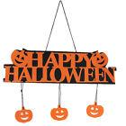 Halloween Pumpkin Pendant Door Decor Hanging Party Decoration Halloween Banner