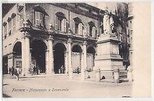 Ferrara - Monumento a Savonarola